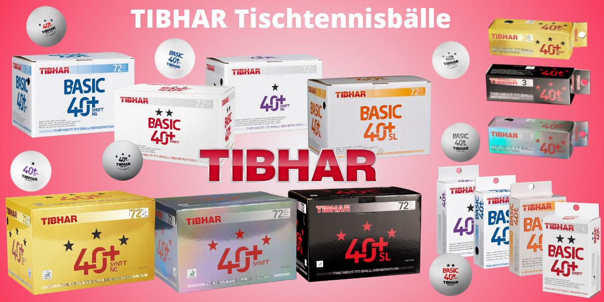 Tibhar Tischtennisbälle