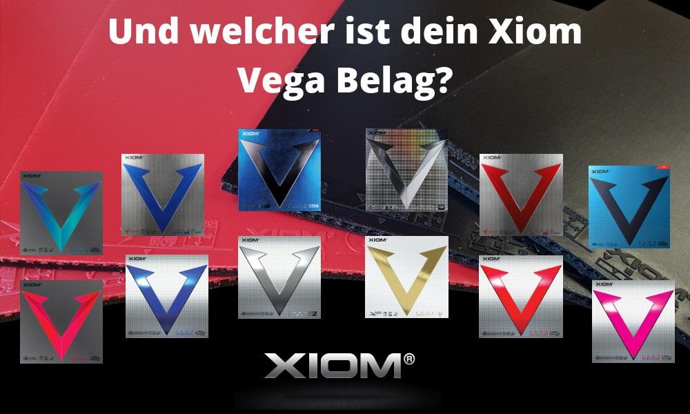 Xiom Vega Beläge
