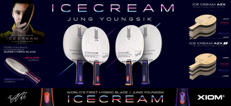 Xiom Ice Cream Hölzer