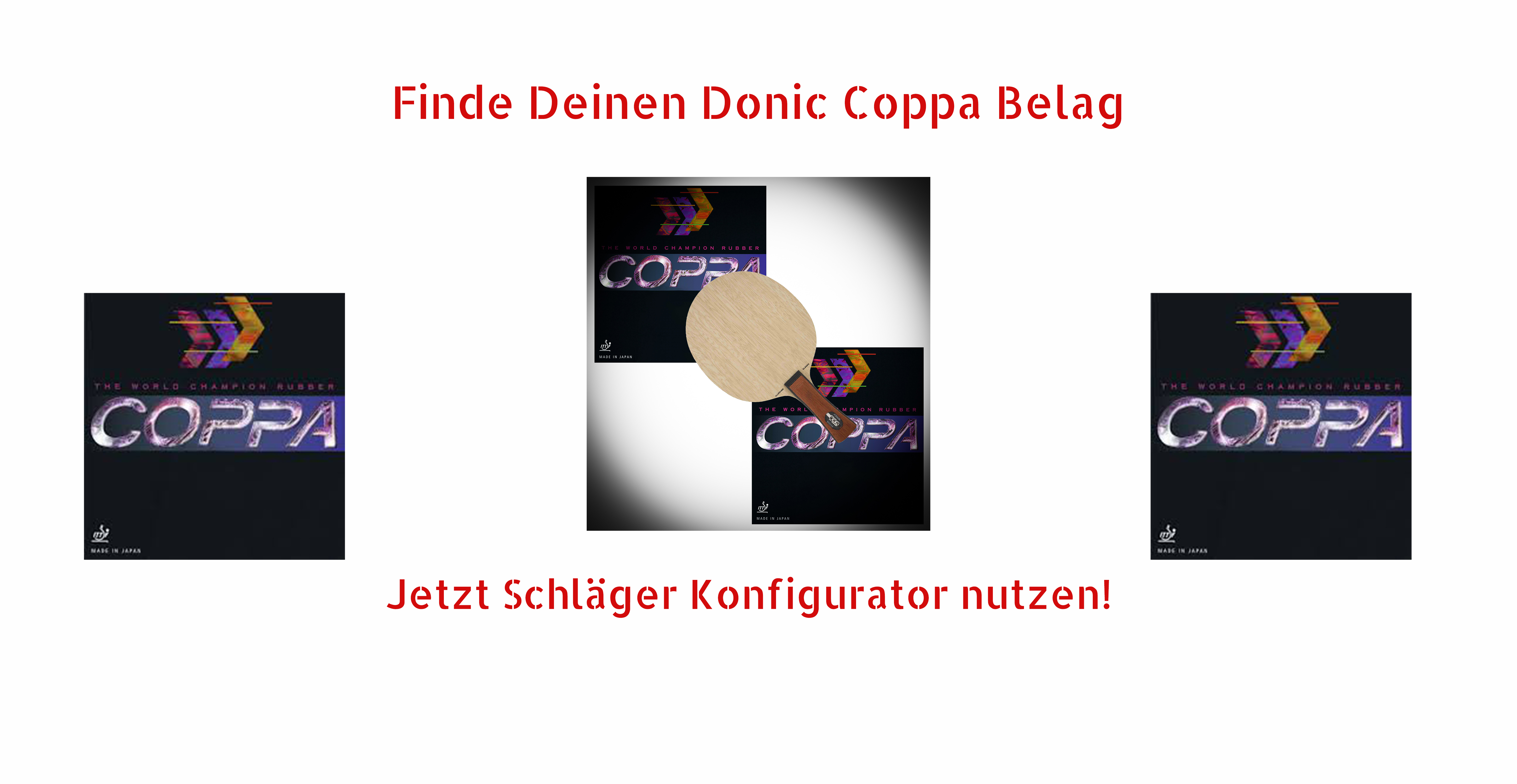 Donic Coppa Beläge