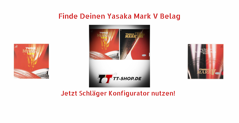 Yasaka Mark V Beläge