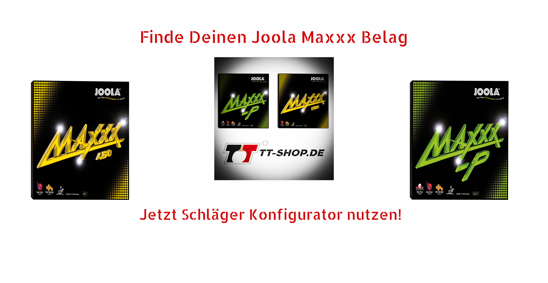 Joola Maxxx Beläge