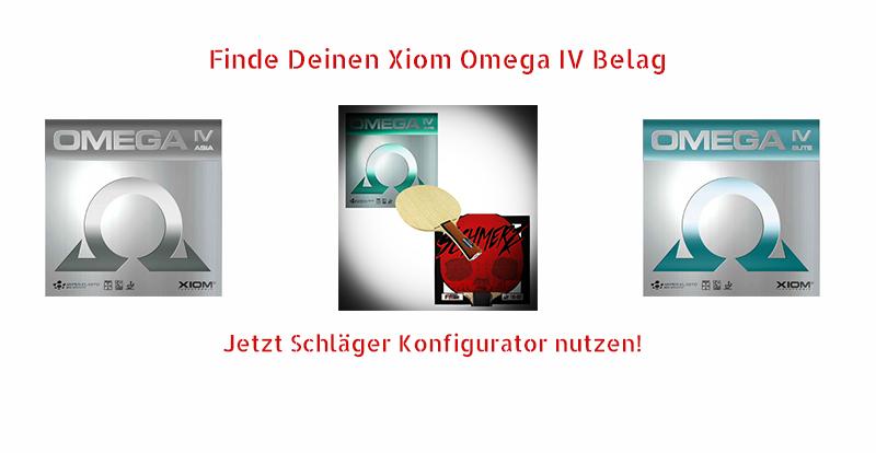 Xiom Omega IV Beläge