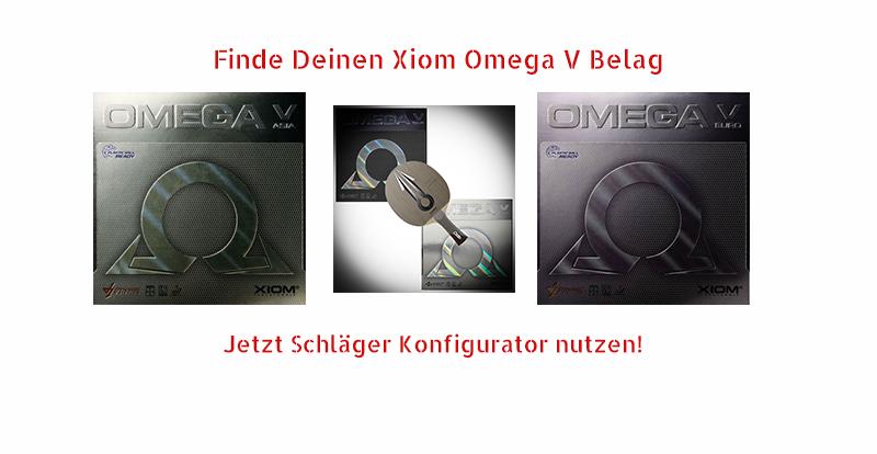 Xiom Omega V Beläge