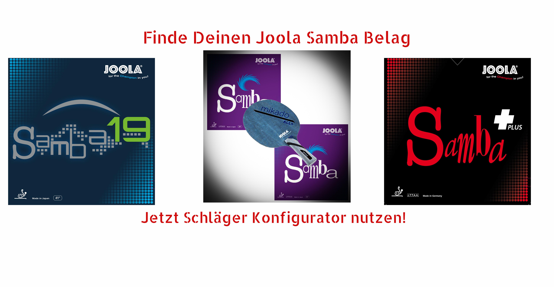 Joola Samba Beläge