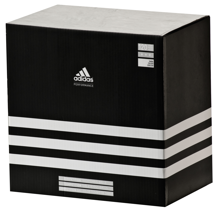 Adidas Competition - Tischtennis Bälle 3 Stern