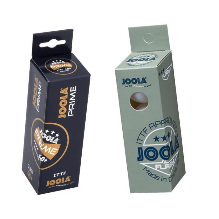 JOOLA Unisex– Erwachsene Prime 40+ Tischtennisbälle, weiß, One-Size