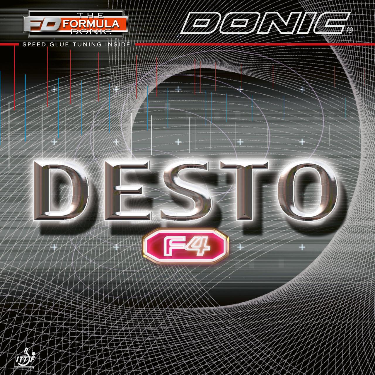 Donic Desto F4  Tischtennis-Belag Tischtennisbelag