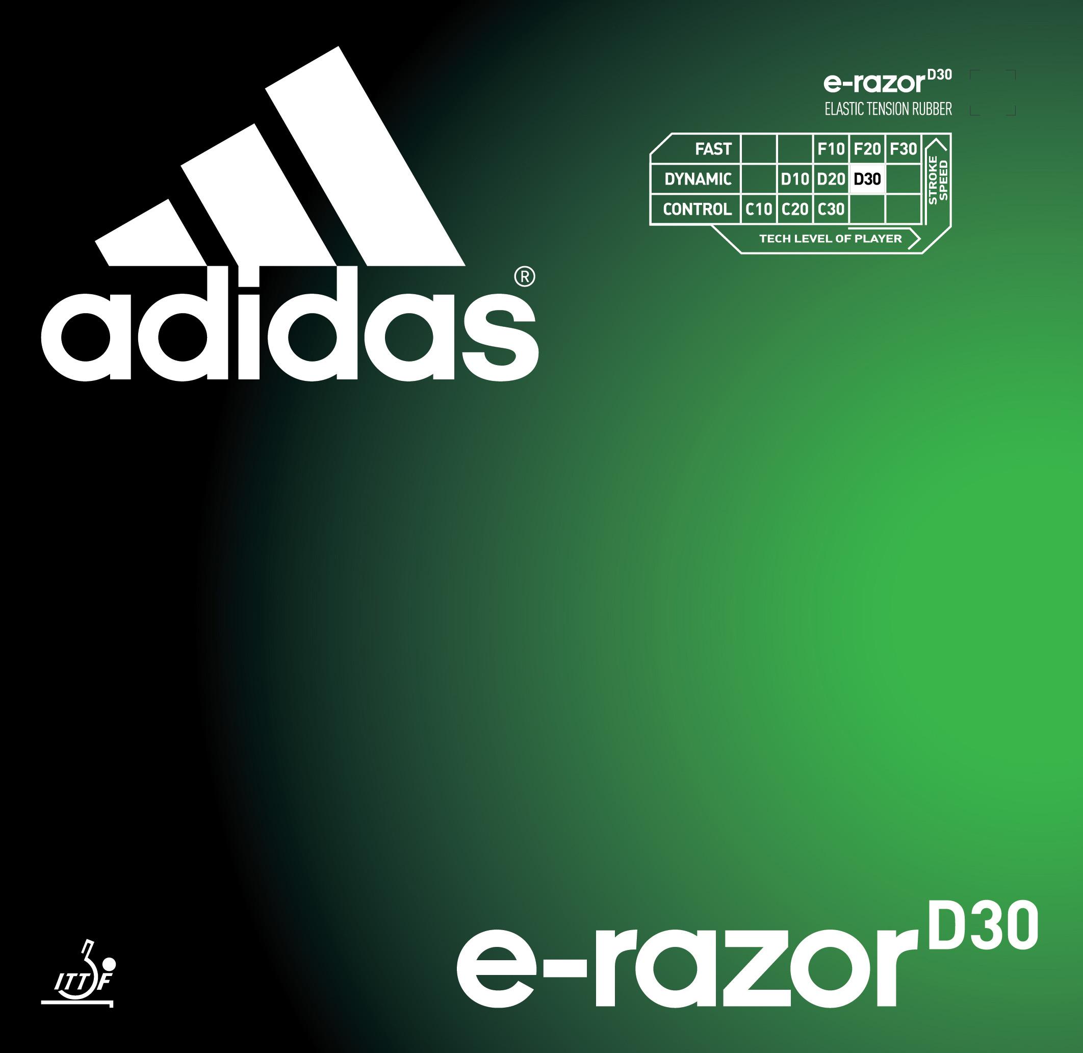 Adidas E-Razor D30 - Tischtennis Belag