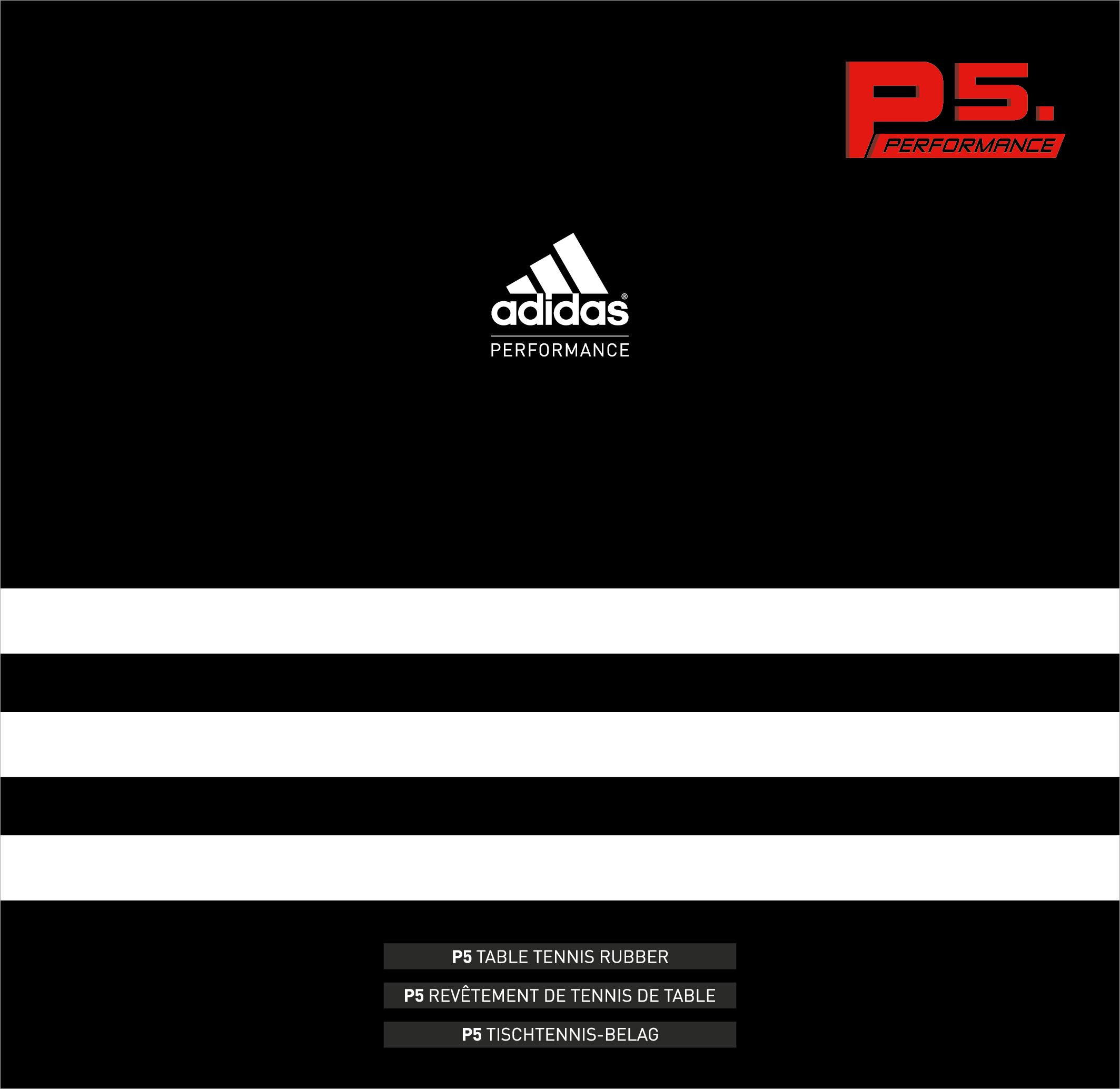Adidas P5 Performence - Tischtennis Belag