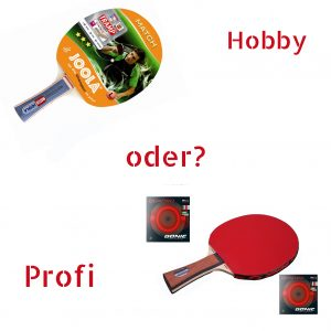 Buying a table tennis bat for hobby & recreation